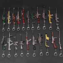 Car Accessories Motorcycle Cars Key Chain CSGO PUBG Weapon Gun Bag Wallet Decoration Pendant Car Key Ring Car Auto Interior Gift
