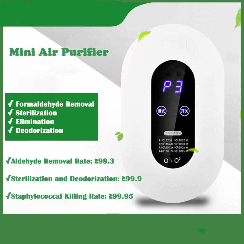 Ozone Generator Ozone Air Purifier Air Cleaner Home Formaldehyde Removal Lonizer Air Purifier for Home Oil Diffuser O3 Generator mini car ozone air purifier home ozone generator car air cleaner odor remover o3 generator eliminator deodorization sterilizer
