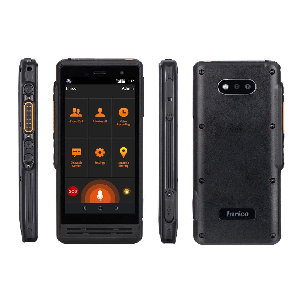 Inrico S300 4G Zello radio poc Network walki talki Real PTT SOS GPS IP67 Android Walkie Talkie intercom with Dual Camera