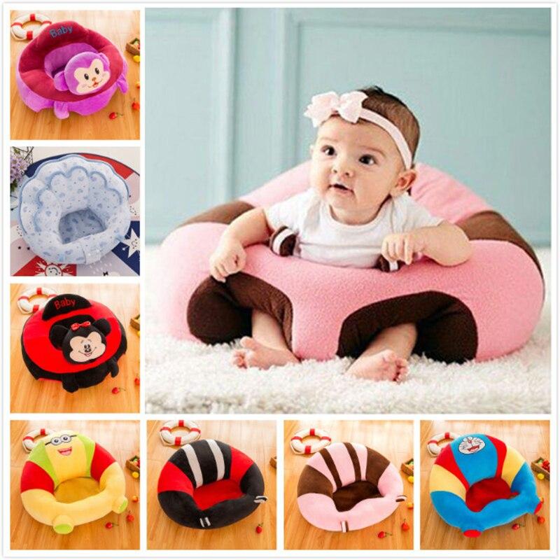 Asientos de bebé sofá Silla de alimentación niños sillas altas Puff asiento ropa de cama nido infantil BeanBag sillón inflable para asiento de chico