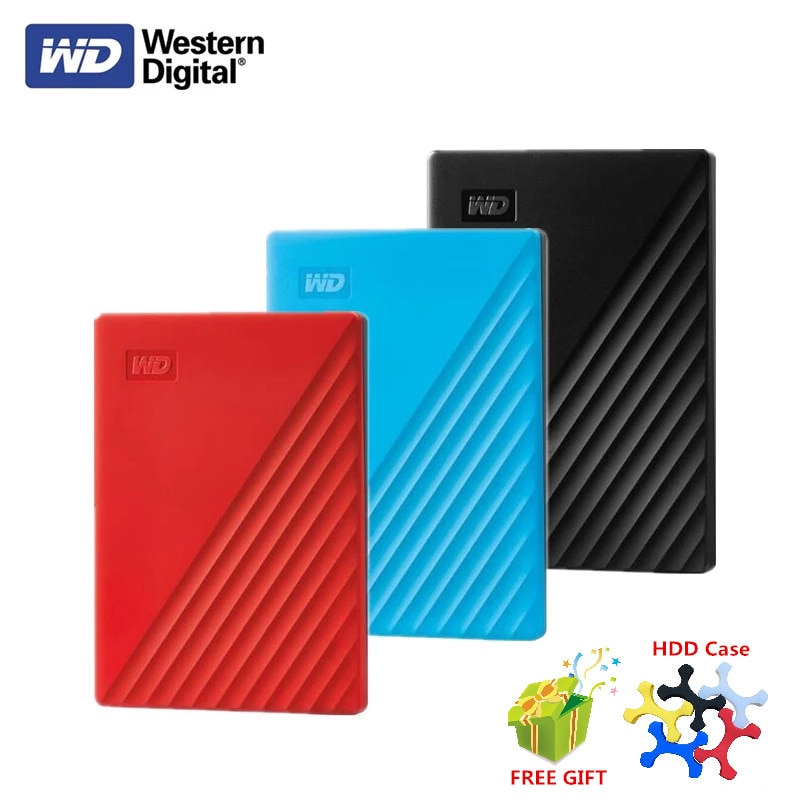 Original Western Digital WD My Passport 1TB 2TB 4TB External Hard Drive USB 3.0 password protection HDD Portable Mobile Hard Dis