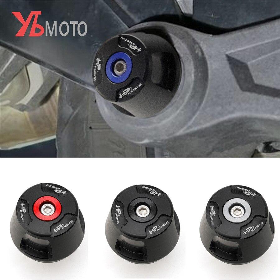 R1250GS logotipo para rueda de motocicleta accidentes de marco para almohadilla cayendo Protector guardia para BMW R 1250 GS HP ADV-R1250GS 2019 aventura de 2020