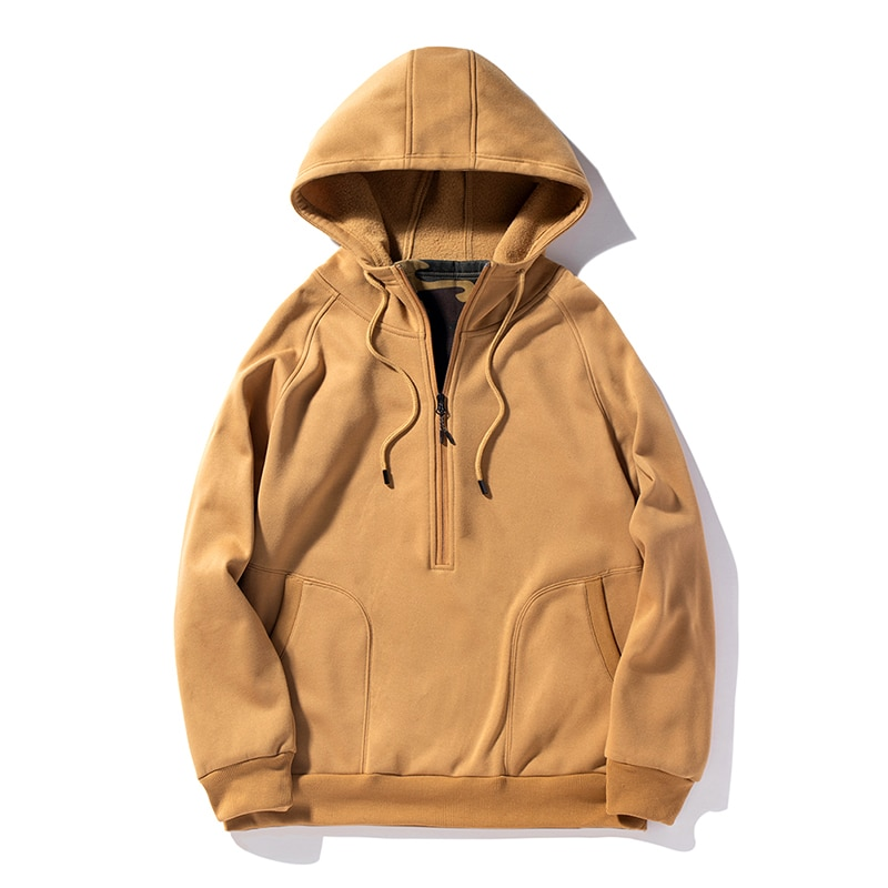 Зимняя мужская куртка 2021, модная мужская куртка с воротником-стойкой, мужское однотонное плотное пальто, тактическая флисовая куртка