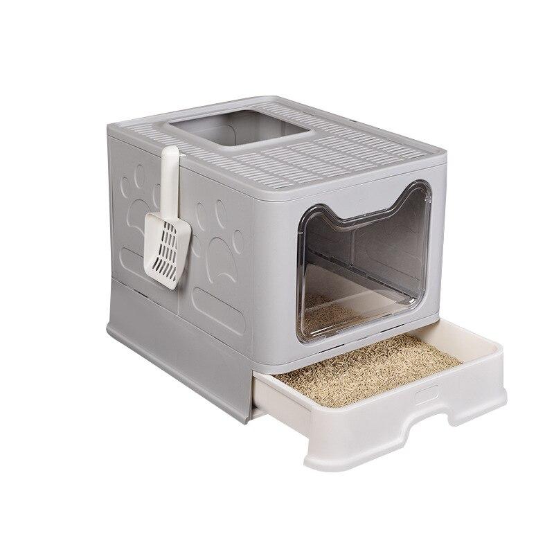 New cat litter Drawer cat toilet Fully Closed pets Fat Cat toilet Cat Litter Basin Deodorant caja de arena para gato litter box