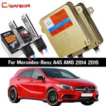 Cawanerl 55W H7 Car Light Ballast Bulb No Error HID Xenon Kit AC For Mercedes Benz A45 AMG 2014 2015 Auto Headlight Low Beam