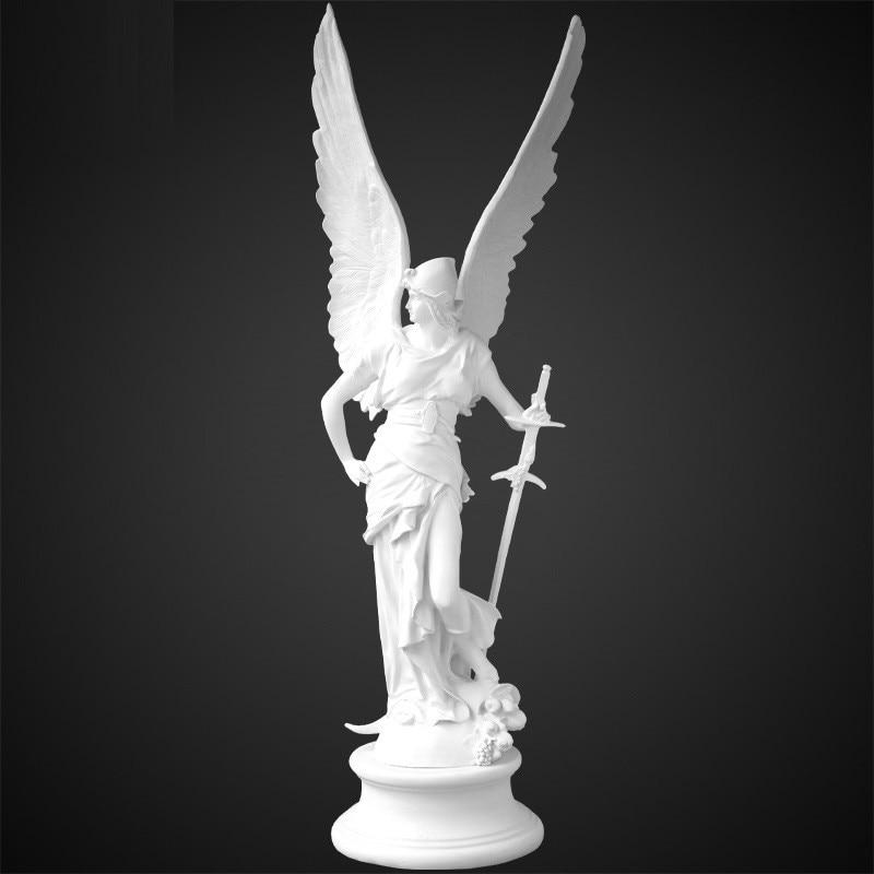 Decoração para Casa Material da Arte Vitória Deusa Arte Escultura Grega Estatueta Nordic Resina Criativa Artesanato R5249 91cm