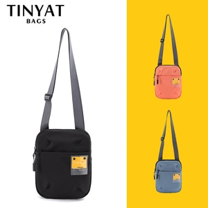 TINYAT  Women Bag Fashion Shoulder bag 2020 Mini Light Crossbody bag Waterproof travel phone bag pack messenger bag 4 pockets