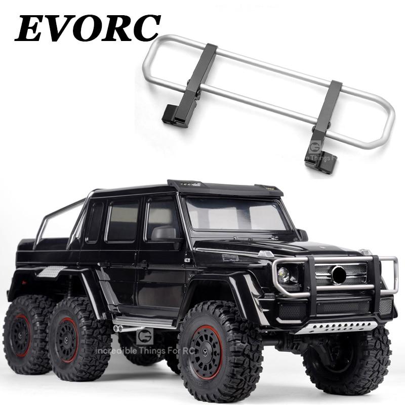 XQRC CNC metal front bumper, for 1 / 10 RC tracked vehicle traxxas trx4 G500 trx6 g63 front bumper, desert front bumper