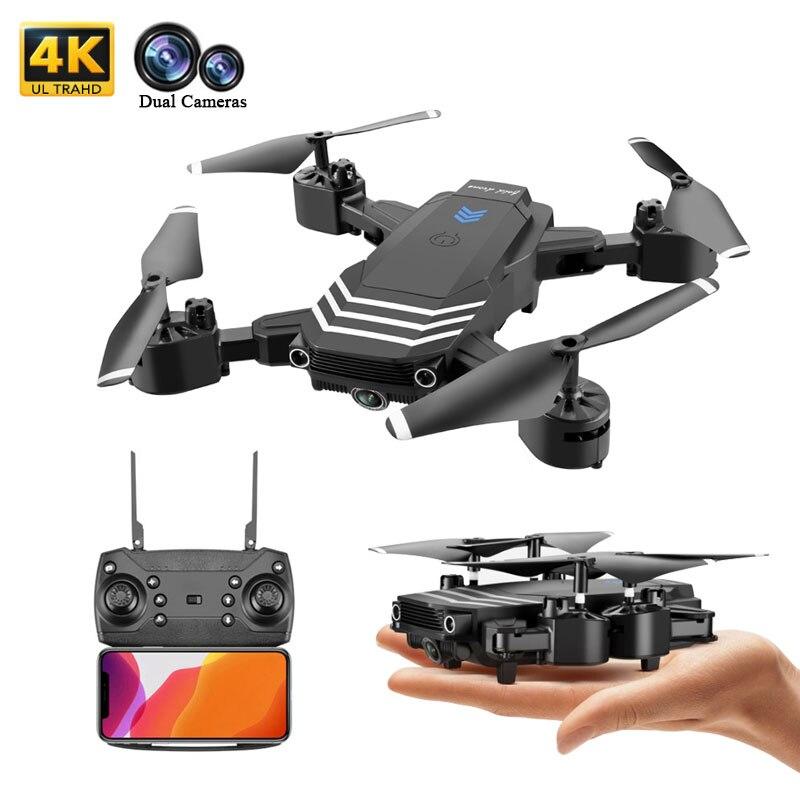 Dron RC 4K, cuadricóptero con cámara HD FPV, Mini Drones profesionales plegables con modo de retención, cámaras duales, Dron, juguetes, Dronees, regalos