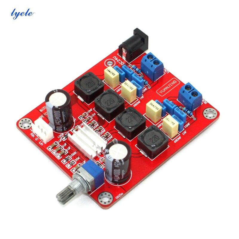 Amplificador de Potência de 2.0 50w + 50w Placa Canais Tpa3116