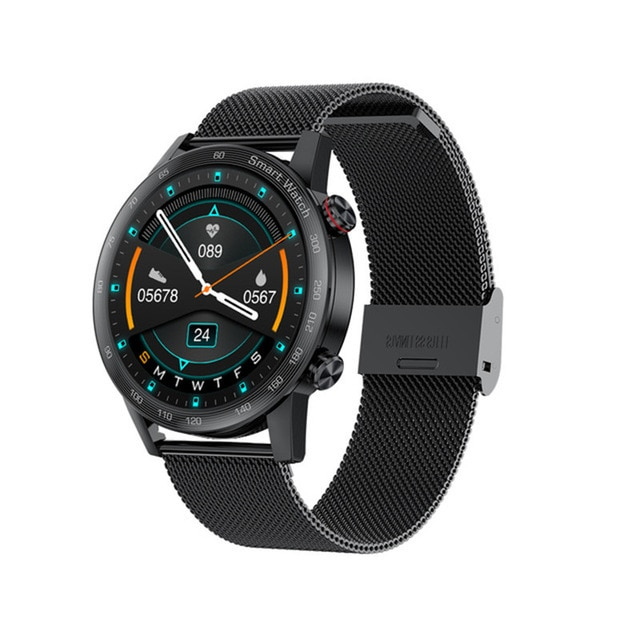 Smart Watch Bluetooth Call MP3 Player 1.28 Inch HD Full Touch IP67 Waterproof Fitness Tracker Clock Music AK25 enlarge