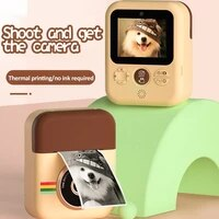 children print camera mini digital instant camera toys camera for birthdays gift kid print camera with thermal printing paper
