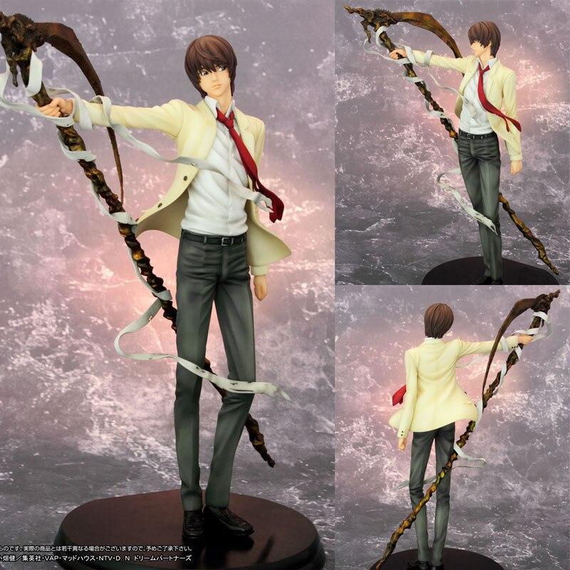 7 pulgadas 26CM Pvc Anime japonés nueva Death Note Yagami Light Killer figura de acción juguete modelo Deathnote colección muñeca regalo