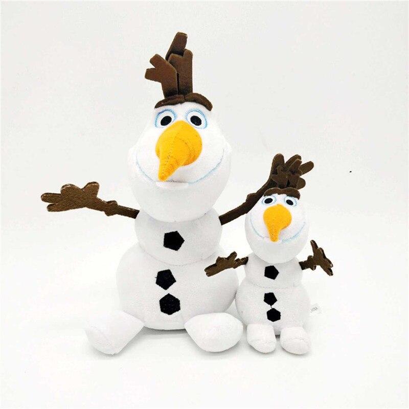 Frozen 2 Snowman Olaf Plush Toys Stuffed Plush Dolls Kawaii Soft Stuffed Animals For Kids Christmas Gifts