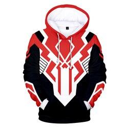 Mighty morphin hoodies moletom 3d venda quente harajuku manga longa cosplay hoodies plus size para homem streetwear