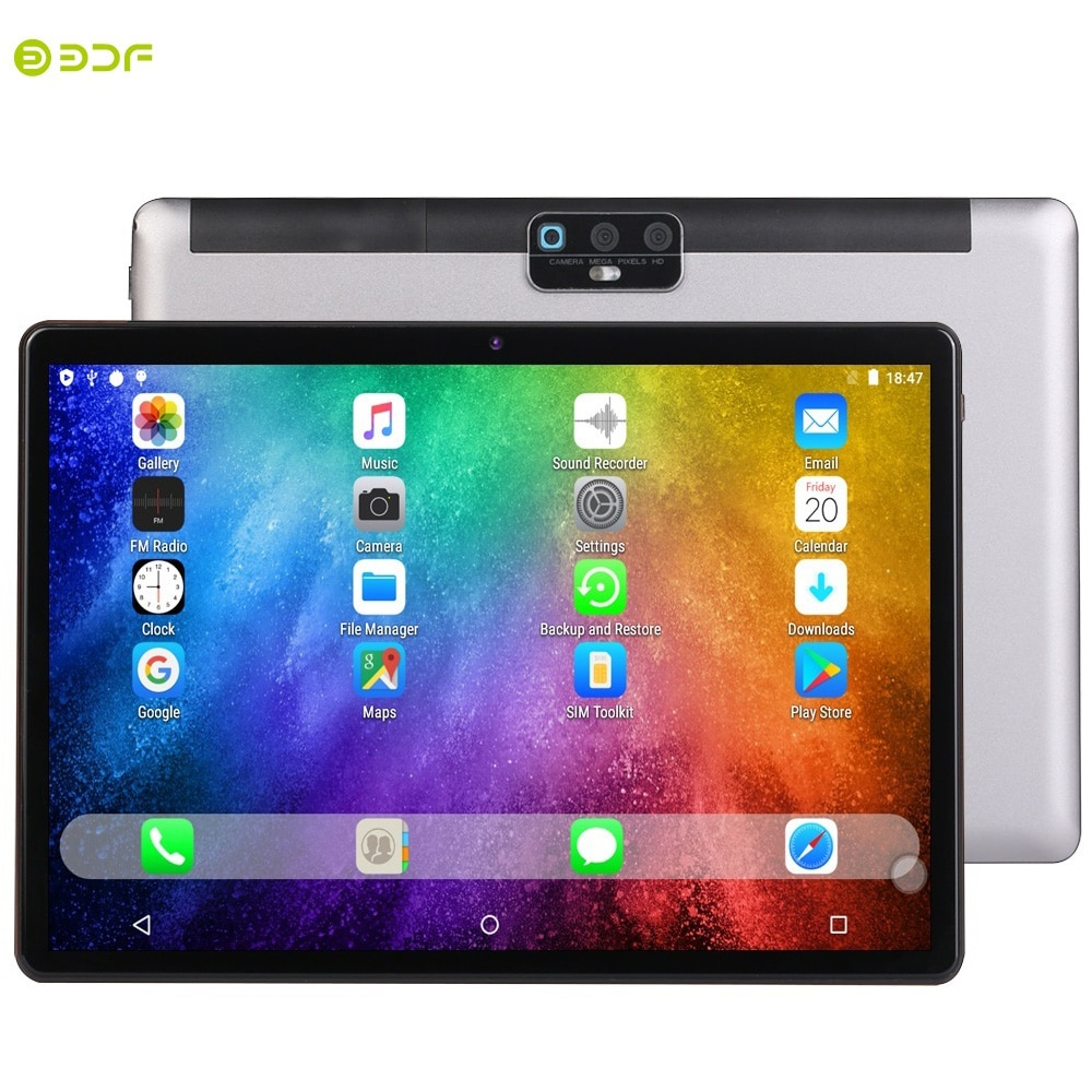 New Original Tablet PC 10.1 Inch Android 9.0 LTE Network Phone Call Tablets Octa Core Mobile Educational Pad 2GB/32GB Tablette