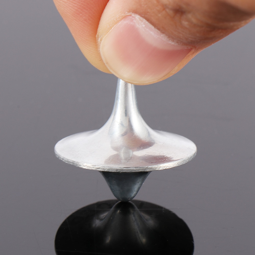 aliexpress.com - New Arrival Hot Sale Metal Gyro Great Accurate Silver Spinning Top Hot Movie Totem Print Spinning Top new and high quality