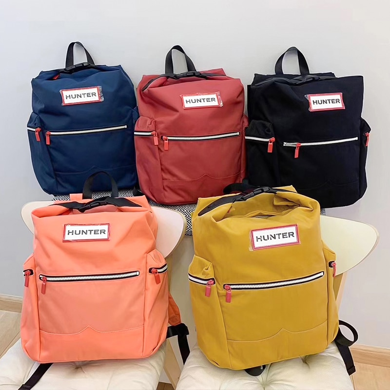 Unis original bag resistant to nylon water  laptop backpack backpack with clip parachute big casual light daypack travel
