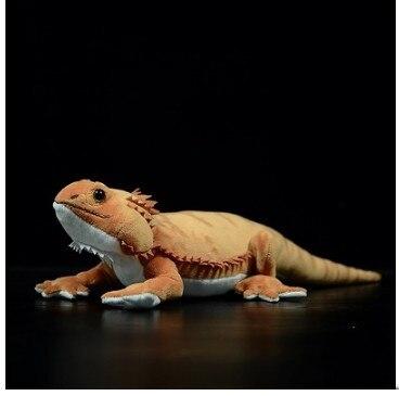 Free Shipping 46cm Simulation  Lguana Lizard Cute Realistic Stuffed Plush Toy Soft A Animals Doll For Children Birthday Gift недорого