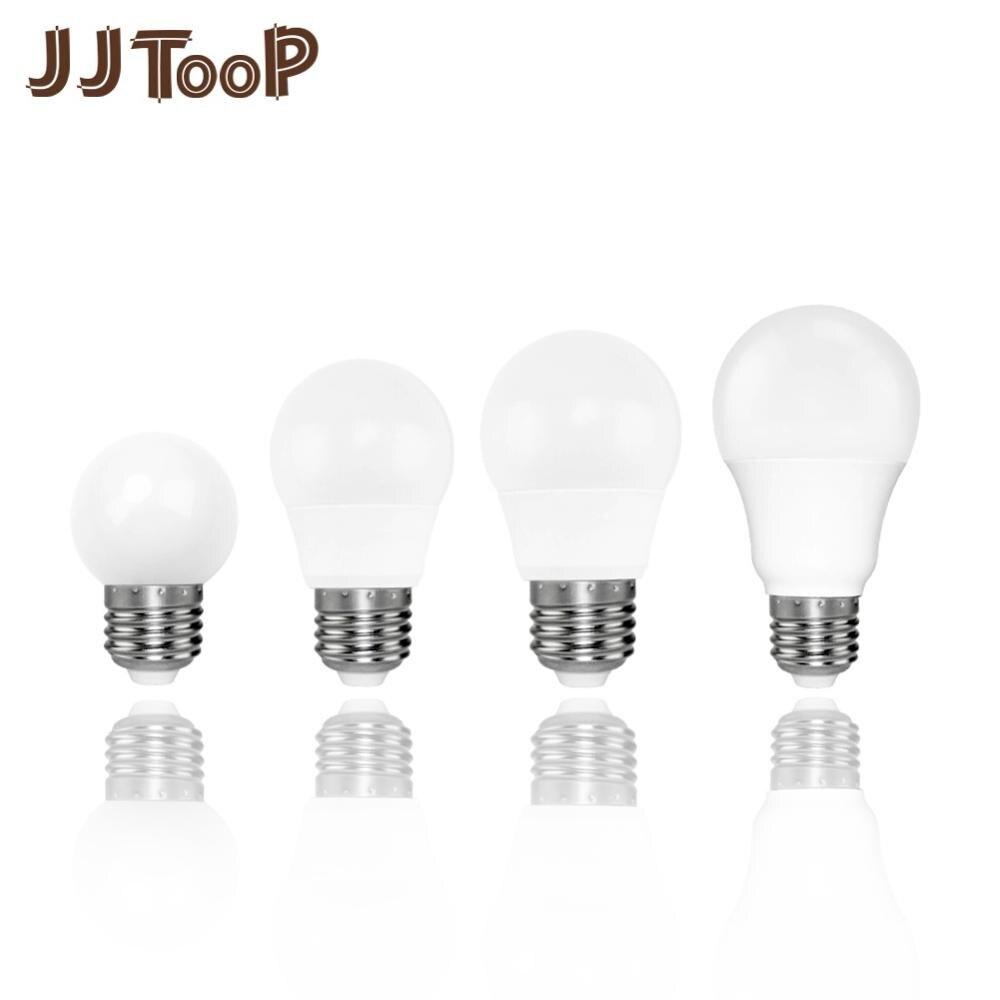 LED Bulb E27 E14 3W 6W  9W 12W 15W 18W Spotlight Indoor Home Table Desk Lamp Night AC 220V 240V LED Spot Lighting Bombilla