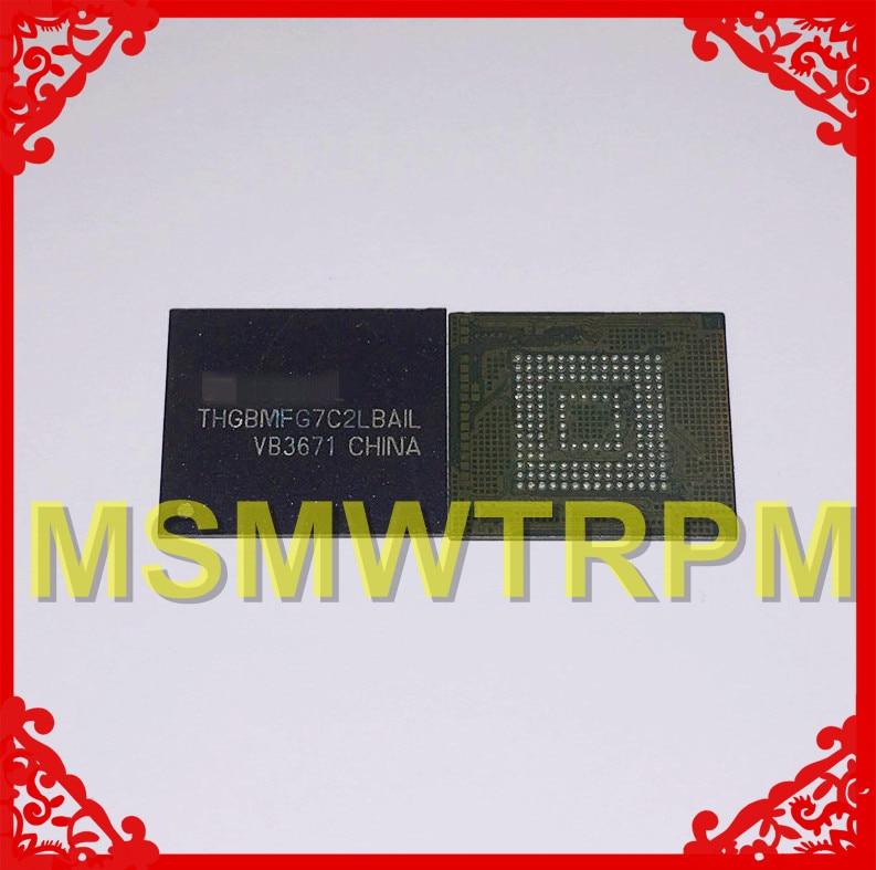 THGBMFG7C2LBAIL BGA153Ball EMMC5.0 5.0 16GB ذاكرة الهاتف المحمول جديد الأصلي وثاني كرات ملحوم اختبار موافق