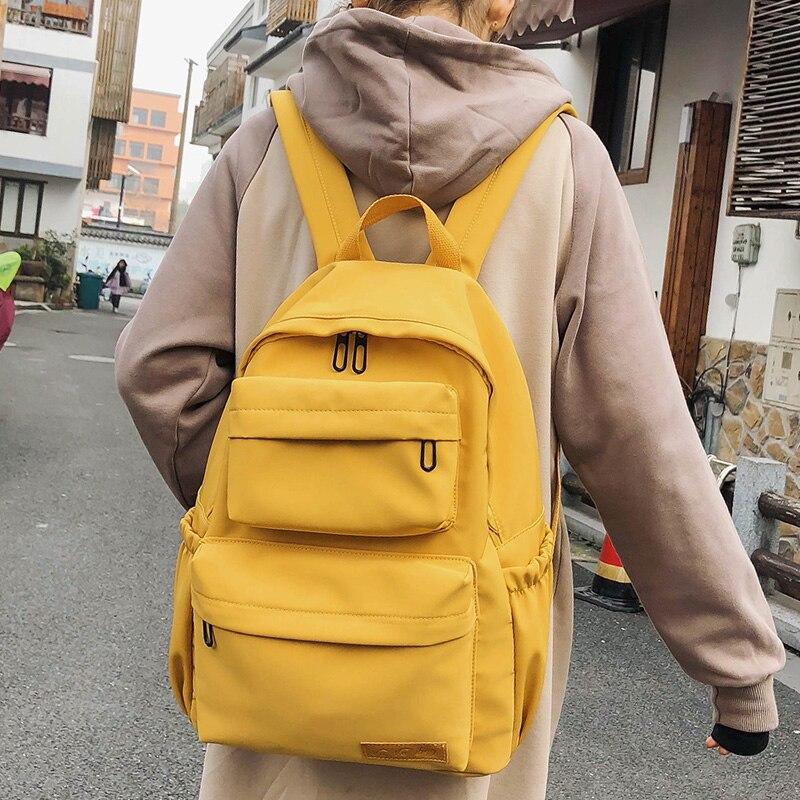 Новый женский водонепроницаемый рюкзак, модные Молодежные дорожные рюкзаки, школьная сумка для девочек-подростков, рюкзак Mochilas Bagpack