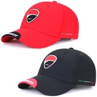 1x motorcycle baseball cap embroided letters for ducati assault cap f1 racing cap outdoor sports summer hats