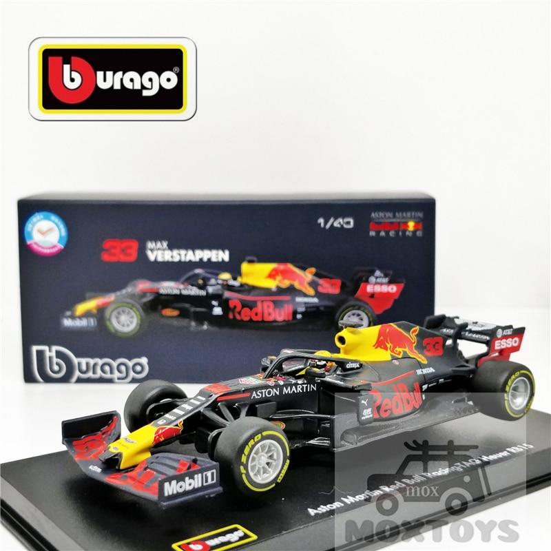 Bburago 1:43 F1 2019 ريد بول فريق RB15 #33 سلسلة التوقيع سباق Diecast سيارة