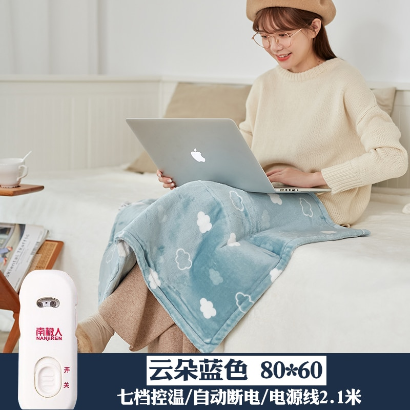 Double Electric Warming Heating Blanket Pad Soft Warm Usb Electric Blanket Bed Heated Manta Electrica Termica Body Warmer EA6DRT enlarge