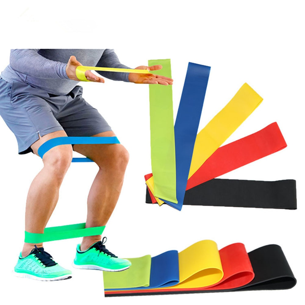 yoga rubber fitness bands training fitness gym exercise gym home strength resistance bands sport crossfit workout equipment 5piece Fitness Gum Exercise Gym Strength Resistance Bands Pilates Sport Rubber Fitness Mini Bands Crossfit Workout Equipment