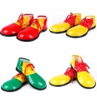Забавная обувь клоуна из искусственной кожи; Обувь клоуна для косплея для взрослых; Реквизит для костюмированной вечевечерние на Хэллоуин; ...