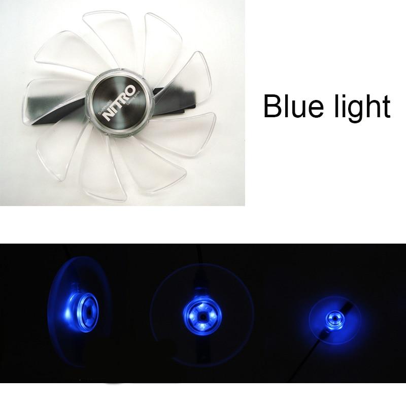 2PCS For Sapphire Nitro RX580 8G OC RX570 8G D5 RX480 8G RX 470 CF1015H12D 95mm Video Card Cooling Fan