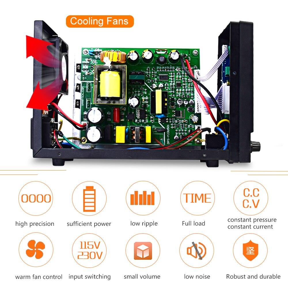 Wanptek DPS605U Lab DC power supply adjustable led digit laboratory Bench power source 60V 30V 5A voltage regulator switch DIY