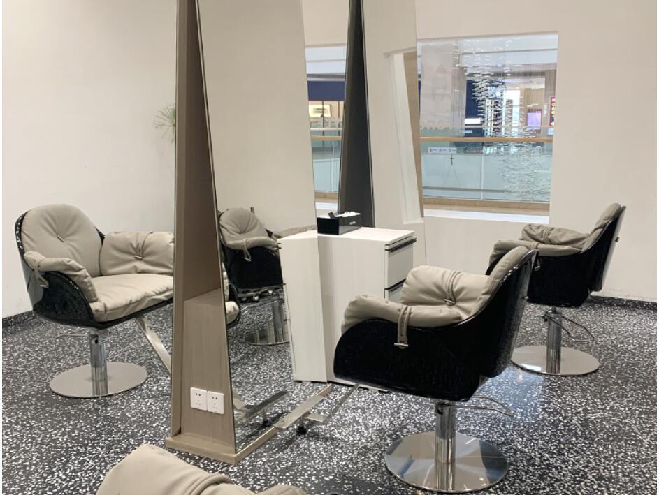 Wanghong барбершоп стул Парикмахерская специальная стрижка стул лифт простой современный Педальный парикмахерский салон стул