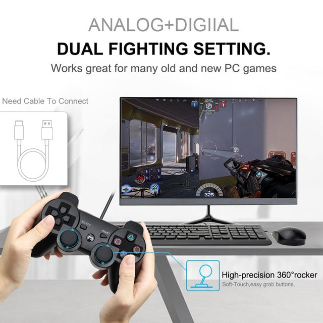 For SONY PS3 Controller Bluetooth Gamepad for PlayStation 3 Joystick Wireless Console for Sony Playstation 3 SIXAXIS Controle PC 10