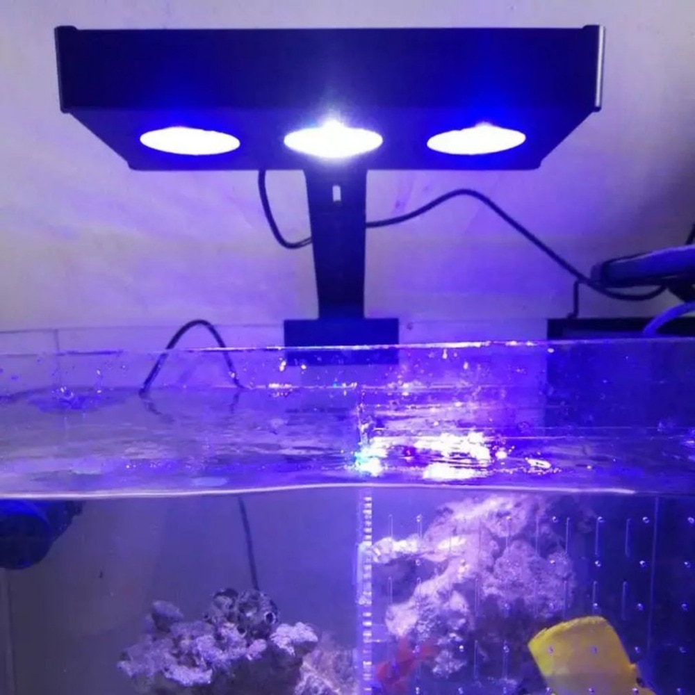 30W LED Full Spectrum Marine reef tank  Indoor Aquarium Light  Saltwater Lighting with Touch Control for Coral Reef Fish Tank saltwater resistant 5w led aquarium fish tank clamp clip lamp lighting with full spectrum for coral reef spot light e27 lamp