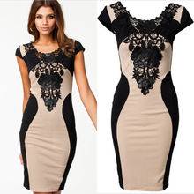 Hirigin 2020 New Fashion Women Lace Dress Bodycon Formal Prom Party Dress Sleeveless Vestidos De Fes