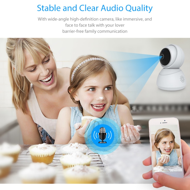 Tuya Smart Home 1080P IP Smart Camera 360 Angle Wireless WiFi Night Vision Video Camera Webcam Camcorder Protect Home Security