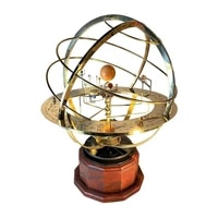 creative personality trend big solar system model metal fashionable model window durable decoration jewelry
