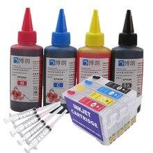 Refill Inkt Kit 1711 17xL Navulbare Inkt Cartridge Voor Epson XP-33 XP-103 XP-203 207 XP-303 XP-306 XP-403 XP-406 XP-313 XP-413