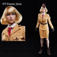 collectible in stock 16 sexy female solider identity v womens air force head clothes set for 12 verycool largest bust body