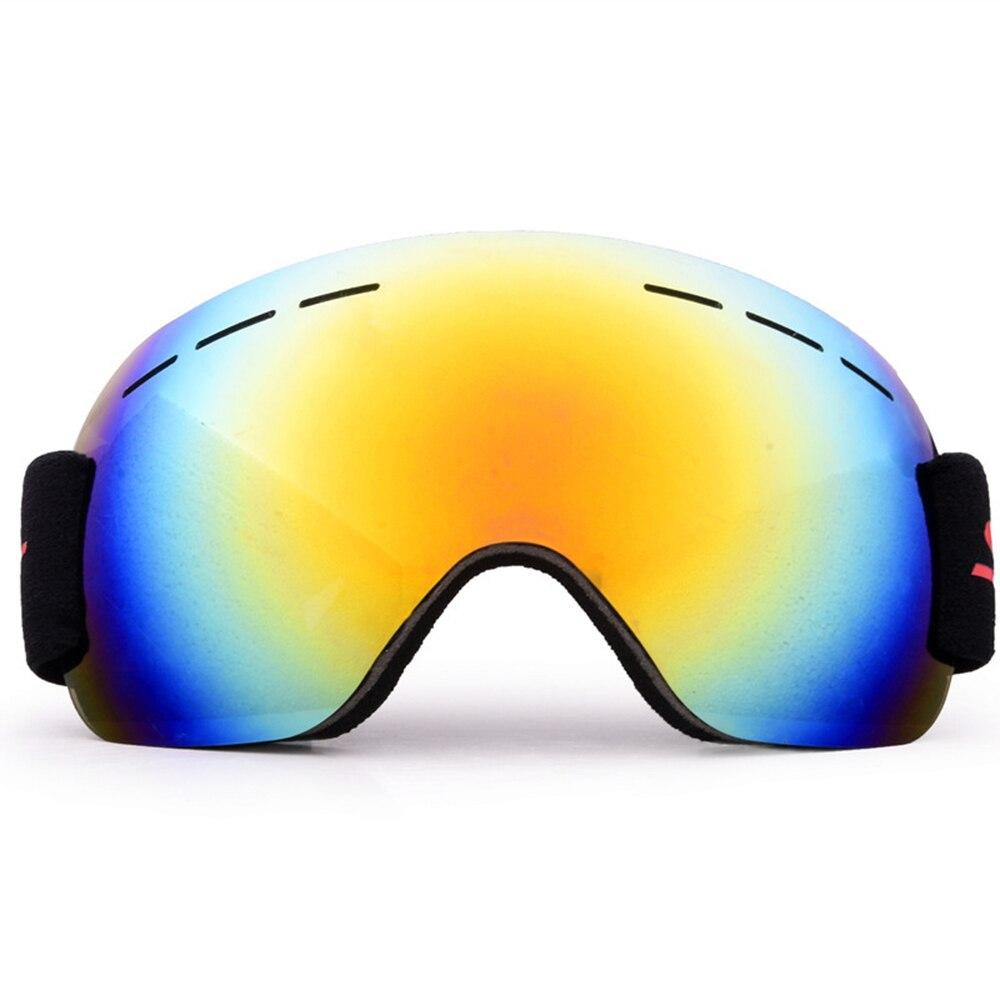 Сноуборд очки Анти туман ветер песок большие сферические Альпинизм Лыжные для
