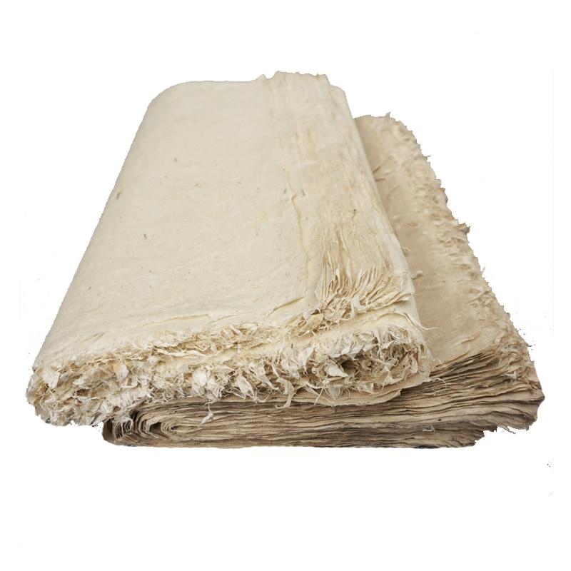 Бумага для каллиграфии ручной работы, китайская полузрелая бумага Xuan, рисовая бумага s, винтажная бумага для рисования, принадлежности для р...