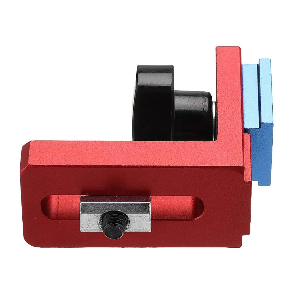 T-track para trabajar la madera, Conector de soporte, ranura, inglete, calibre, maquinaria, parte, módulo, pista, parada, localizador, Rail retenedor