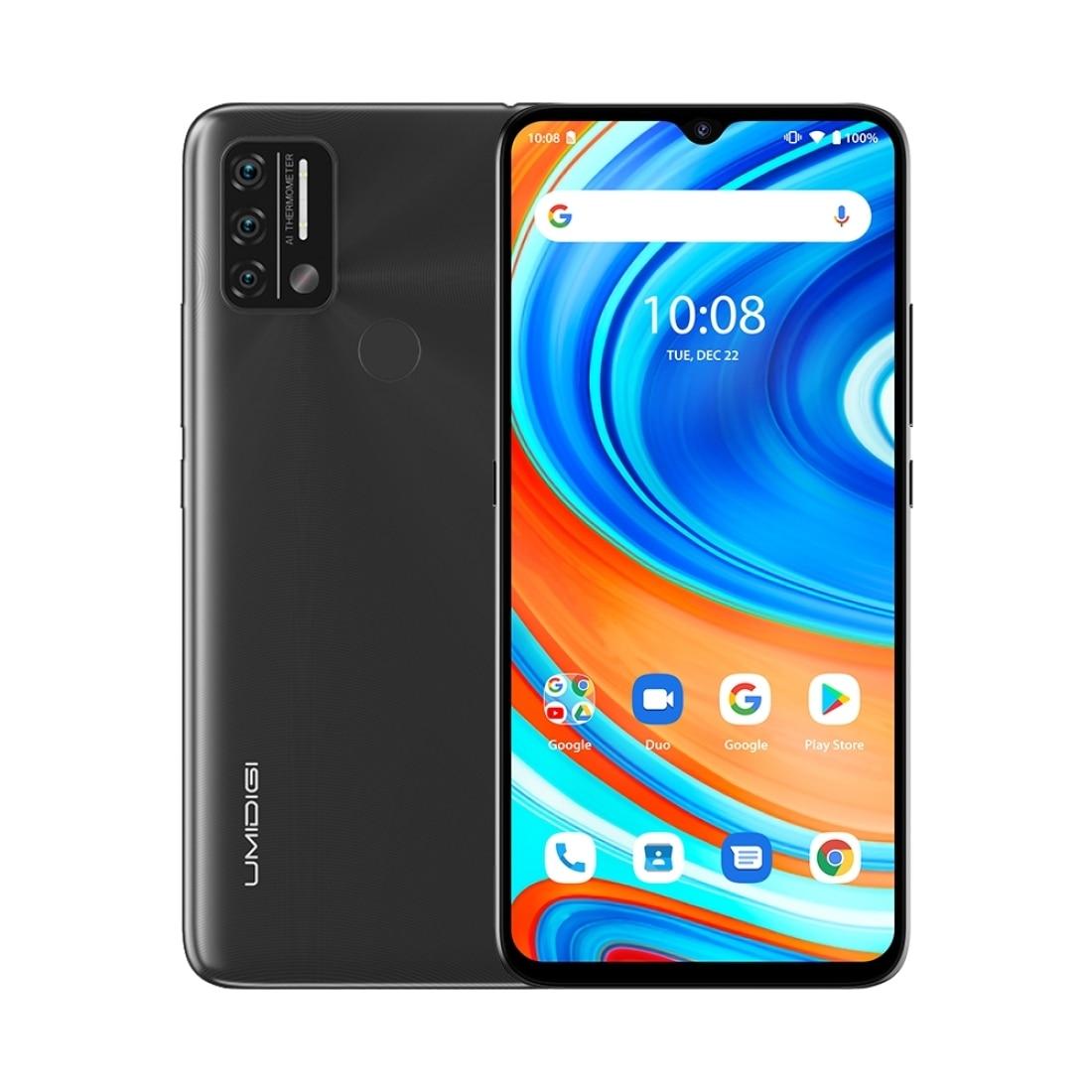UMIDIGI A9 Android 11 Global Version Smartphone 13MP AI Triple Camera 3GB 64GB Helio G25 Octa Core 6.53