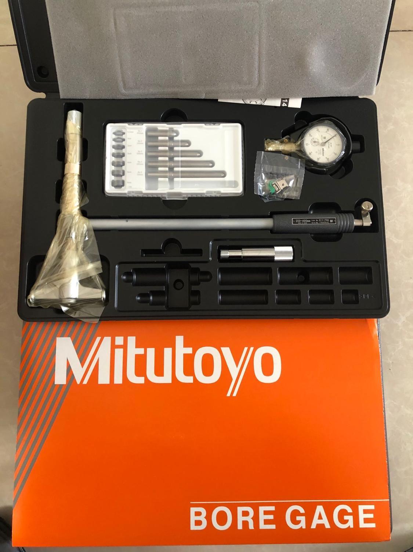 حقيقية Mitutoyo 511-716 الهاتفي تتحمل مقياس 250-400 مللي متر x 0.01 مللي متر داخل القطر الجدول 1 قطعة ** العلامة التجارية الجديدة مصنع التعبئة **
