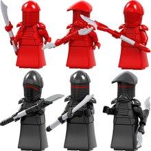 Building Blocks Single Sale Plastic Model Figures Black Royal Guard Operations Qi'Ra Lando Dameron IG-88 Rose Toys for children