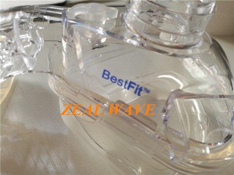 Máquina do respirador de corfu bestfit nariz almofada nasal máscara facial acessórios silicone almofada manga couro vedação capa