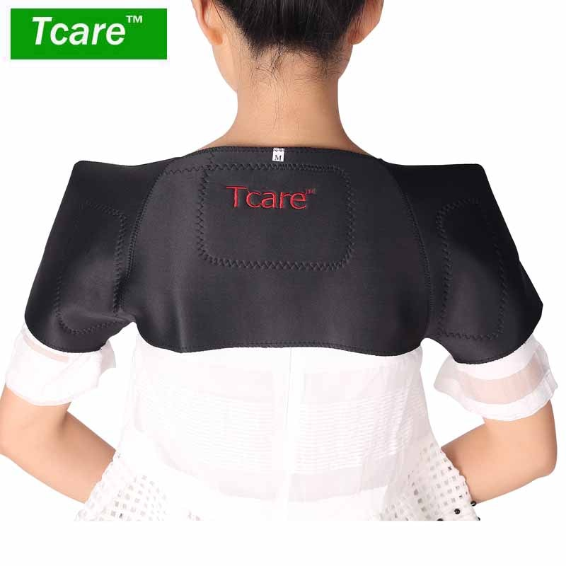 Tcare Tourmaline Self-heating Unisex Heat Therapy Pad Shoulder Protector Support BodyMuscle Pain Relief Health Care Heating Belt