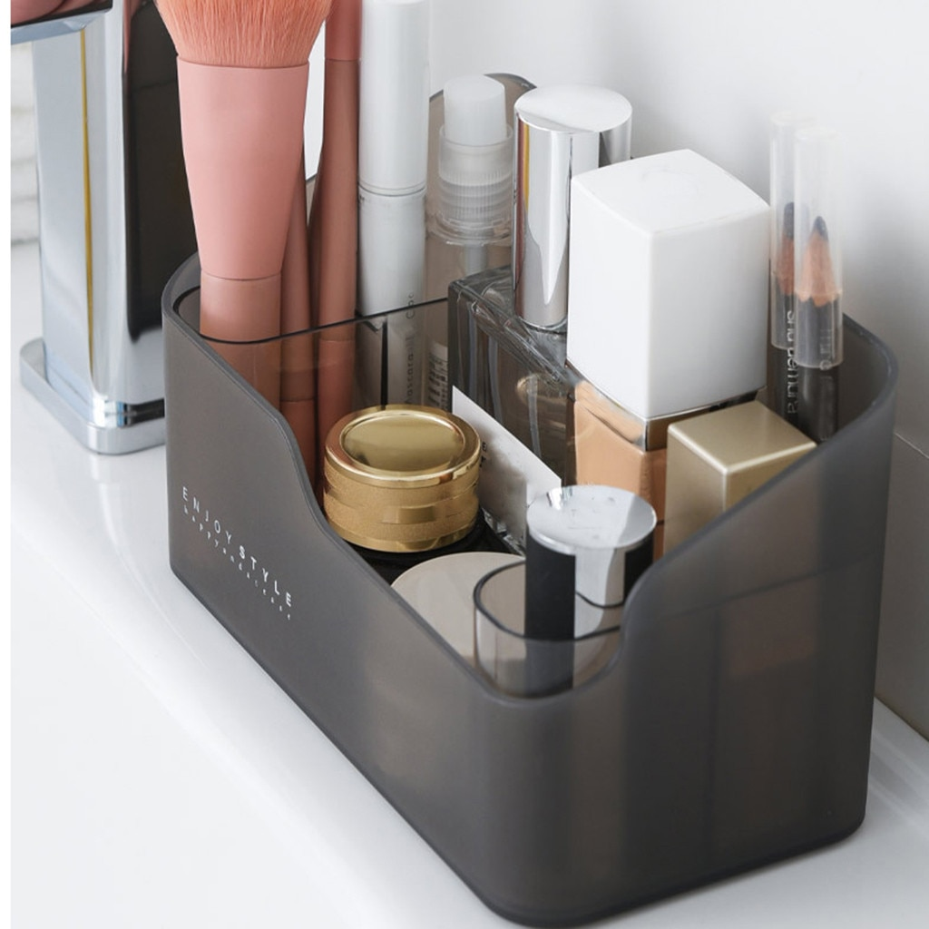 hot Multi-functional Skin Care Products Remote Control Cosmetics Jewelry Storage Box Make Up Cosmeti